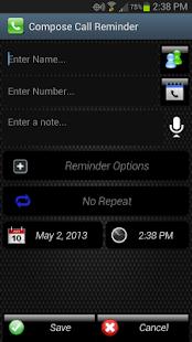 Call Reminder- screenshot thumbnail