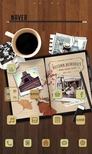 Diary Dodol launcher theme