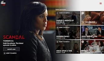Screenshot of WATCH ABC