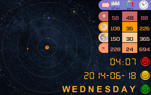 Kepler's Laws 1.12 screenshots 3