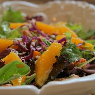 Citrus Salmon & Red Cabbage Salad