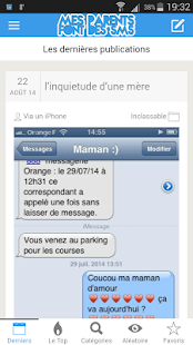 Download Mes parents font des SMS APK