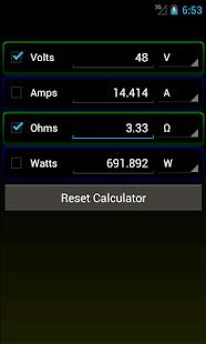 Ohms law calculator apps on google play screenshot image keyboard keysfo Gallery