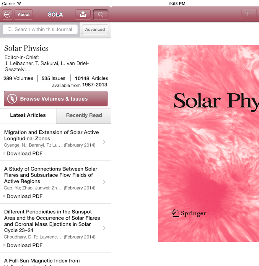 Solar Physics- screenshot