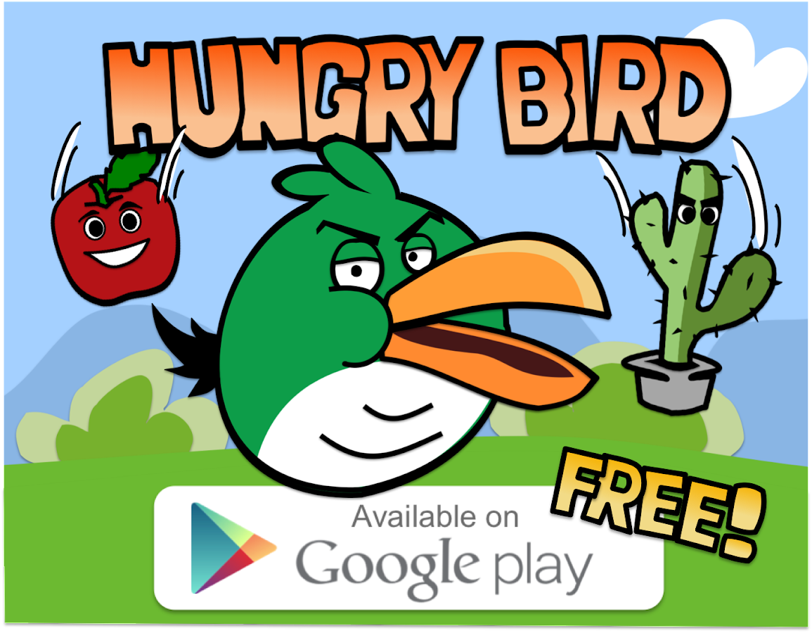 Hungry Bird- screenshot