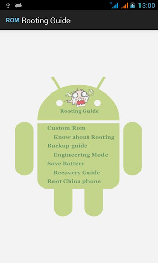 Rooting Android Guide - Phone Rooting 16 screenshots 1