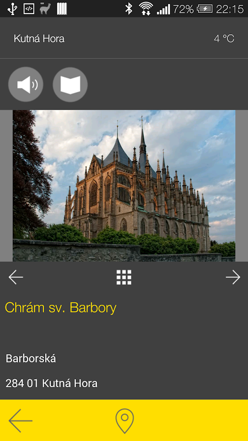 Kutná Hora - audio tour- screenshot