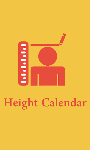 Height Tracking Calendar