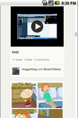 Vlogger Blog
