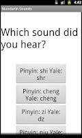 Screenshot of Mandarin Sounds
