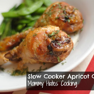 Slow Cooker Apricot Chicken.