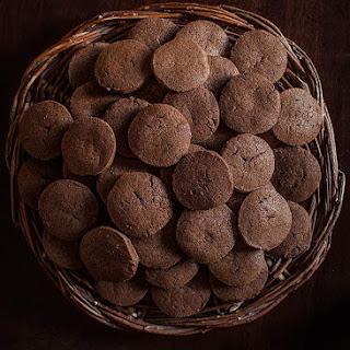 Simple Chocolate Cookies.