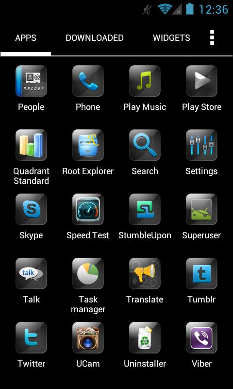 Pure HD Apex Theme- screenshot