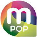 m-pop logo