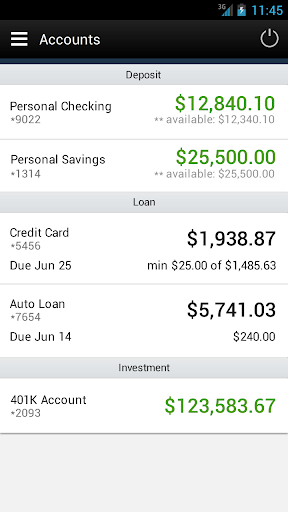 LegacyTexas Mobile Banking