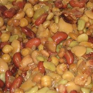 Five Bean Casserole.