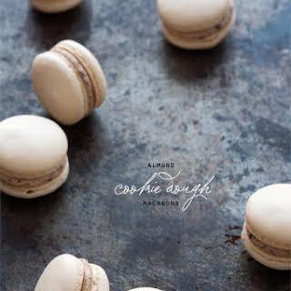 Almond Cookie Dough Macarons.