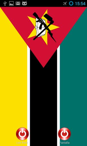 Lantern flashscreen Mozambique