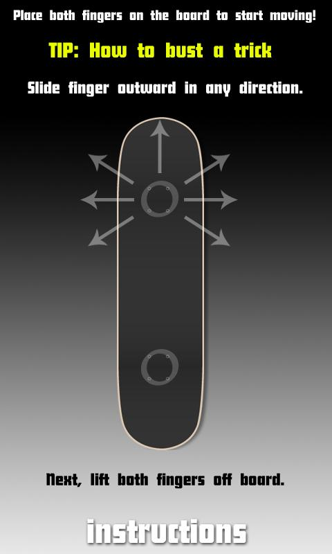 Fingerboard: Skateboard- screenshot