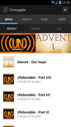 Crossgate Church App