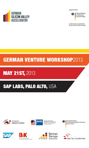 German Venture Workshop 2013