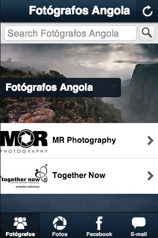Fotógrafos Angola