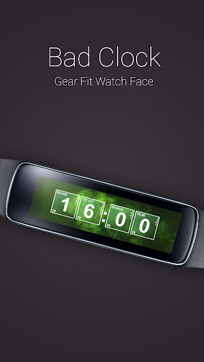 Bad Clock for Gear Fit