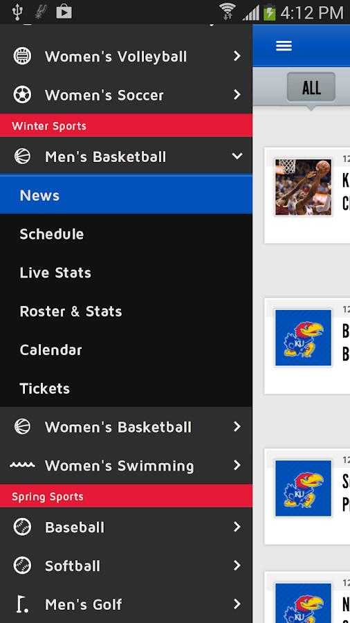 Kansas Jayhawks - screenshot