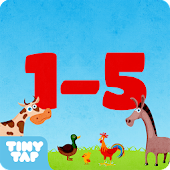 Learning Numbers- Farm Animals