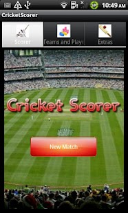 Cricket Scorer - screenshot thumbnail