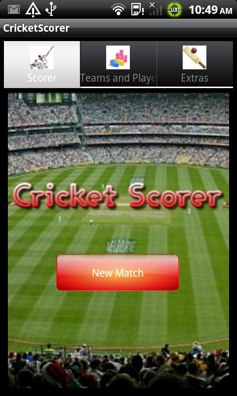 Cricket Scorer - screenshot