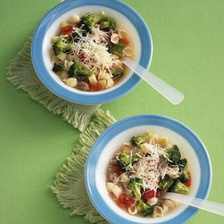 Minestrone with Broccoli