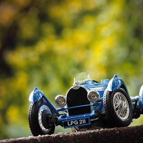 Oldie but goldie by Christian Tiboldi - Artistic Objects Toys ( car, car wheels, old car, vitange, wheels, bugatti, toy, object,  )