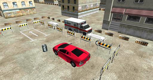 救護車3D遊戲停車場