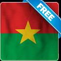 Burkina Faso flag Free lwp