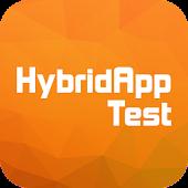 Haiburoido - hybrid test app