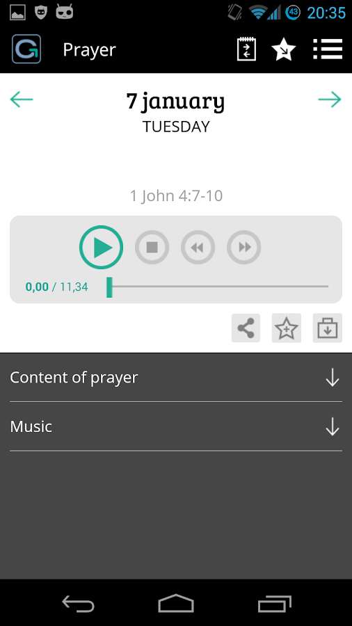 Pray As You Go - Daily Prayer- screenshot