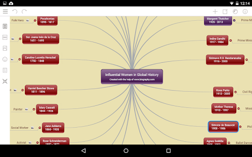 Mindomo (mind mapping) - screenshot thumbnail