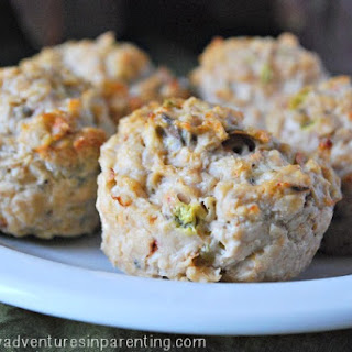 Clean Eating Chicken Muffins Recipe