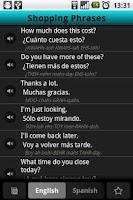 Screenshot of Spanish Anywhere