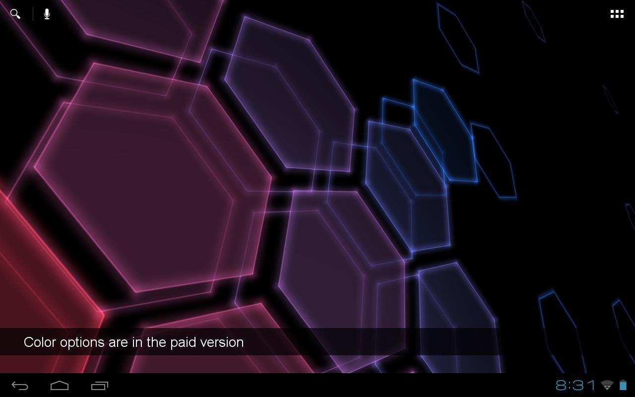 Digital Hive Free LWP - screenshot