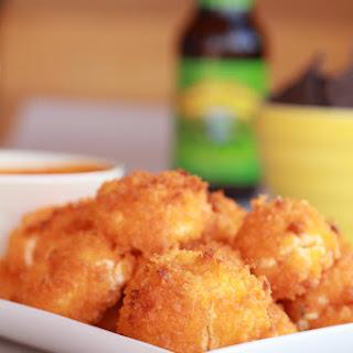"Buffalo Oven ""Fried"" Goat Cheese."