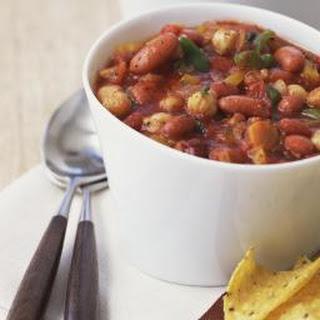 Three Bean Crockpot Chili