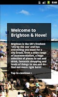 Screenshot of Brighton Official Guide