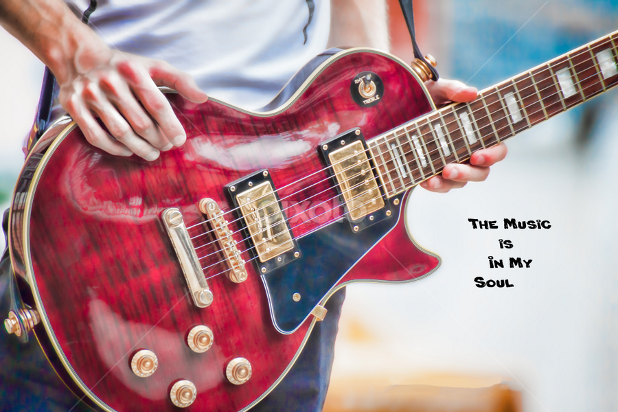 Music by Judy Deaver - Typography Quotes & Sentences ( music, quotes, guitar,  )