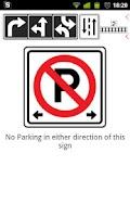 Screenshot of Nova Scotia Road Signs