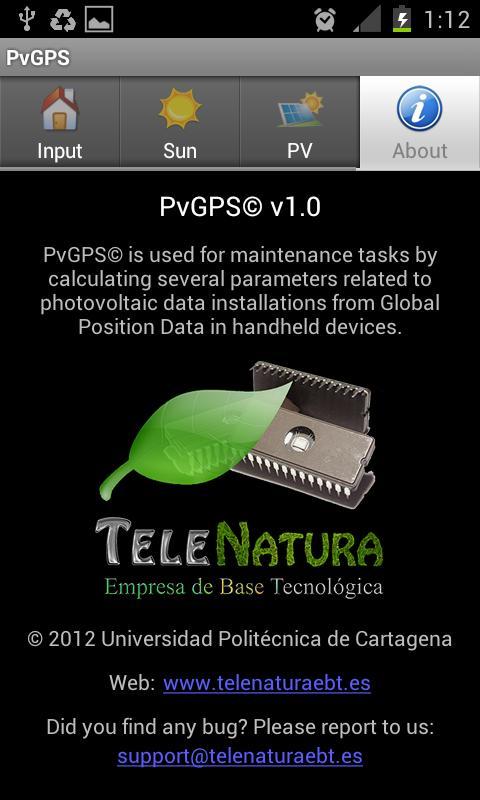 PvGPS- screenshot