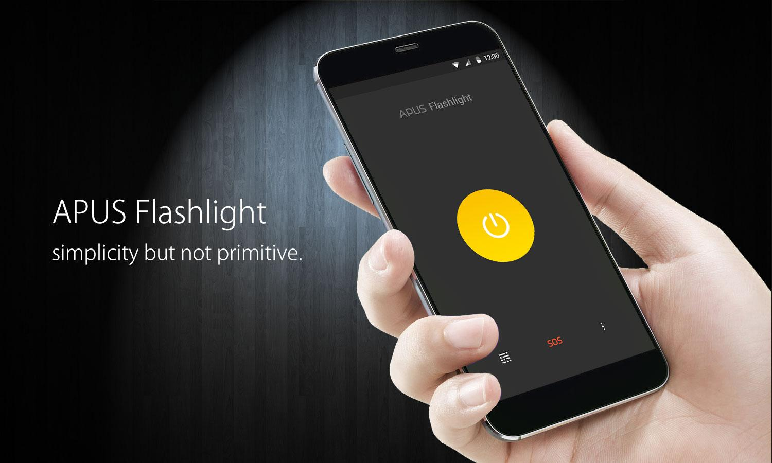 APUS Flashlight-Free & Bright- screenshot