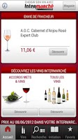 Screenshot of Choisir son vin Intermarché