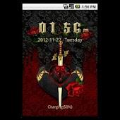 GO-Locker: Red Goth Hearts